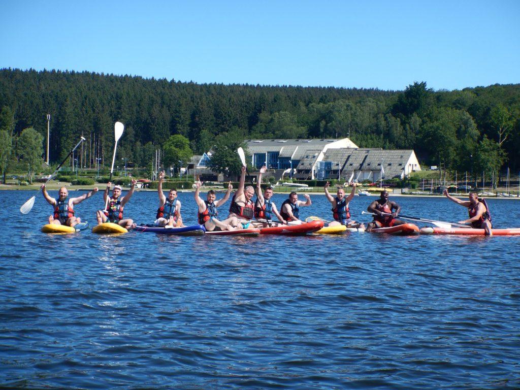 kayak au Lac des Vieilles Forges